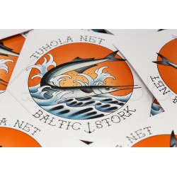 Sticker - garfish - Baltic...